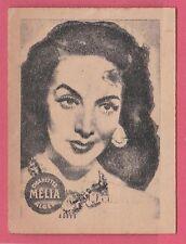 Cigarettes Melia Algeria Rare 1950s Film Star Tobacco Card - Maria Felix