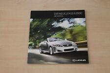 172094) Lexus IS 250 C - die Fakten - Prospekt 10/2009