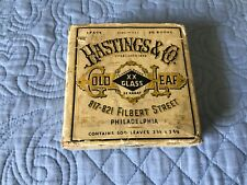 Vintage Hastings & Co Gold Leaf -T
