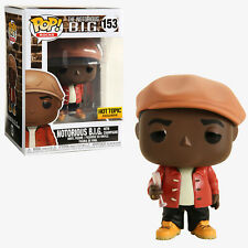 Funko Pop Rocks: Notorious B.I.G. w/ Champagne (#153) - Hot Topic Exclusive