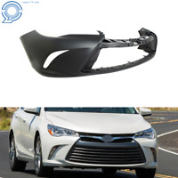 New Bumper Cover For 2015 2016 2017 Toyota Camry Front Plastic Primed