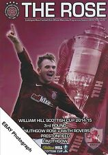 Linlithgow Rose v Raith Rovers William Hill Scottish Cup 3rd Round [01/11/14]