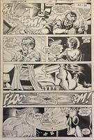 Fury of Firestorm #8 Original Art Jerome Moore Rodin Rodriguez Adam Kubert 1983