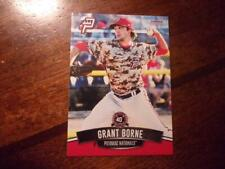 2017 POTOMAC NATIONALS Single Cards YOU PICK FROM LIST $1 to $3 each OBO