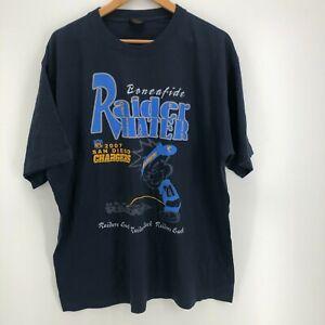 Gold Series T-Shirt Men's XL Blue Raiders Suck Chargers Fans Pee Spoof Parody