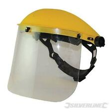 PROTECTIVE FACE SHIELD AND VISOR FOR WOOD TURNING WORKING ROUTING SPRAYING