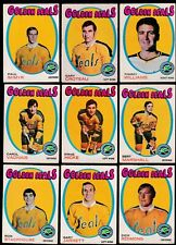 1971 O-Pee-chee Team SET Lot of 19 California GOLDEN SEALS VG/EX OPC PATRICK R