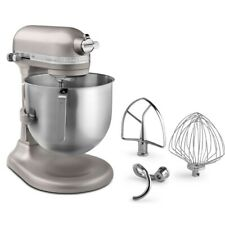 KitchenAid 8 Quart Commercial Stand Mixer (NSF Certified) - Nickel Pearl
