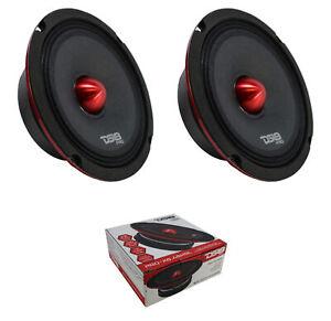 "2 x 6.5"" 1000W Slim Midrange Bullet Speaker 4 ohm Slim DS18 PRO-X6.4BMSL"