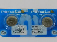 /Sr916W Swiss Made 2Pc Renata Watch Battery #373