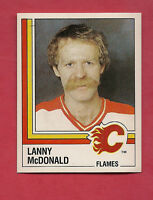 RARE 1987 FLAMES # 215 LANNY MCDONALD STICKER CARD