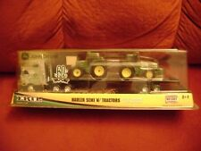 ERTL - John Deere Hauler Semi withTractors / 1:64 scale New