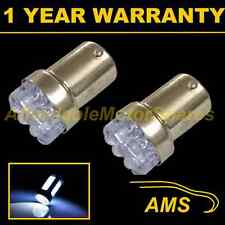 2X 207 1156 BA15s P21W XENON WHITE 8 DOME LED NUMBER PLATE LIGHT BULBS NP200702
