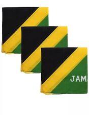 New listing JAMAICA JAMAICAN BANDANA FLAG DURAG FACE MASK HEAD WRAP MAN CAVE GIFT
