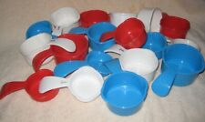 Tupperware Replacement Measuring Cup ~ RED WHITE BLUE~ You choose size Free Ship