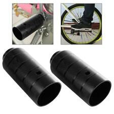2Pcs Steel Foot Stand Pegs MTB Road Bike Bicycle Front Rear Wheel BMX Axle Peg