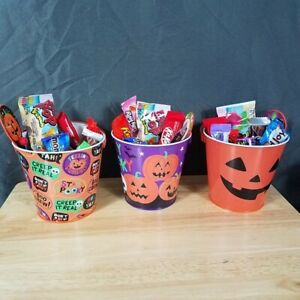 Halloween Trick or Treat Gift Tin Filled with Sweets & Treats / 25 Items