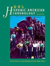 UXL Hispanic American Reference Library: Chronology by Gale Group Hardcover Book