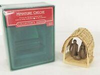 Hallmark Keepsake Ornament 1985 Miniature Creche #1 In Series Nativity NEW NIB
