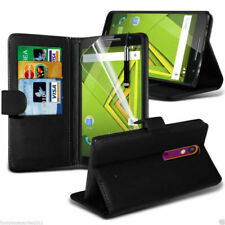 Cover e custodie nero Per LG G6 in pelle sintetica per cellulari e palmari