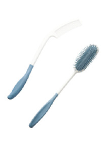Extra Long Handled Hair Brush & Comb Set Limited Arm/Shoulder Movement