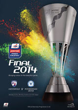 * PETERBOROUGH UNITED v CHESTERFIELD - 2014 JP TROPHY FINAL - MINT PROGRAMME *