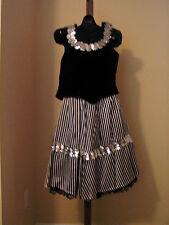Western Saloon Girl Costume Medium Can Can  Cosplay Fancy Dress