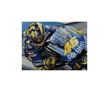 Litho Numero Uno, Valentino Rossi, Yamaha YZR-M1, 2004 WC door Colin Carter