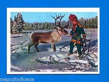 [GCG] LA TERRA - Panini 1966 - Figurina-Sticker n. 186 - I LAPPONI -Rec