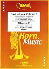 Duet Album Volume 6 Piano / Keyboard / Organ optional 2 Eb Horns MUSIC BOOK