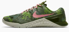 WOMENS GYM SHOES NIKE METCON 3 AMP SNEAKERS TRAINING CAMO ATHLETIC WEIGHTLIFTING