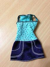 Barbie My Scene Street Sweet Delancey Doll's Polka Dot Dress Outfit Rare