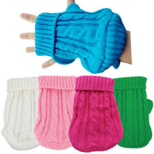 Extra Small Dog Sweater Puppy Clothing for Yorkie Poodle Shih tzu Maltese XXS XS