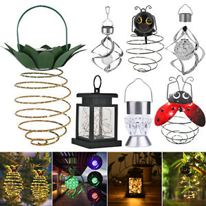 30 LED Solar Hanging Light Pineapple Animal Wind Chime Hanging Courtyard Lamp