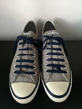 Mens Converse All Star Grey Leather Low Trainers - UK 9