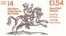 Gb Qeii 1985 Folded Cylinder Bklt - Postal History Series No.14 - £1.54 - Fq4B