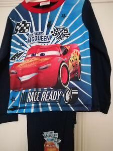 Lightning McQueen  Long Sleeved Pyjama Set 3-4 Years
