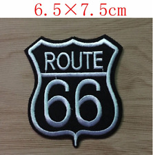 PATCH Route 66 thermocollant biker rock rebelle USA