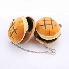 Warm Hamster Nest Mini Hamburger Hanging Cage House Stuffed Squirrel Pets Bed
