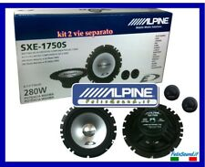 Alpine SXE-1750S Kit Altoparlanti 280W COPPIA Woofer 165mm + COPPIA Tweeter