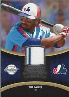 2008 Sweet Spot Swatches #STR Tim Raines Jersey - NM-MT