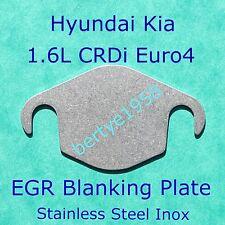 EGR Valve Blanking Plate Hyundai Kia 1.6 CRDi Euro4 i20 i30 D4FB Engine U1 Cee'd