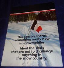 RP2233 1973 Mercury Snowmobile Dealer Sales Brochure
