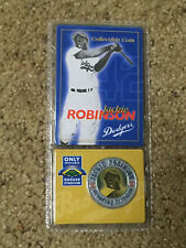 JACKIE ROBINSON LOS ANGELES DODGERS COLLECTIBLE COIN