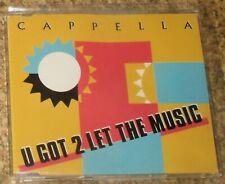 Cappella – U Got 2 Let The Music / CD Single-Ausgabe 1993