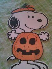 "Peanuts Snoopy Halloween Decoration SNOOPY 15"" tall"