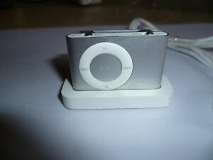 Apple iPod shuffle 2nd Generation (Late 2007) Silver (1GB)