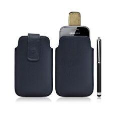 Housse coque étui pochette bleu pour Samsung Galaxy Gio S5660 + Stylet