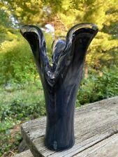 Vintage Glass Swung Vase