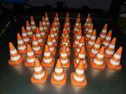 Set of 42 RC Scale Orange & White RC Traffic Cones Set  Crawler, Course.
